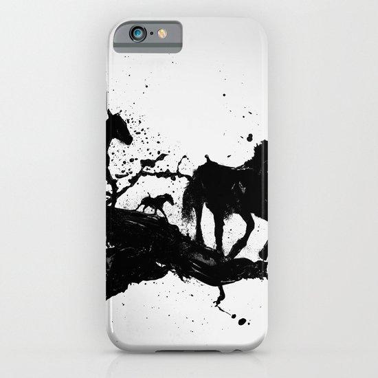 Liquid horses iPhone & iPod Case