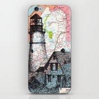 Maine iPhone & iPod Skin