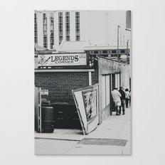 The Legends Corner Canvas Print