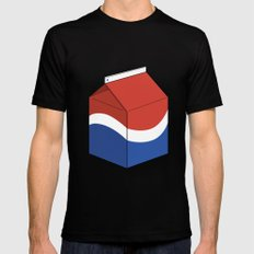 Pepsi in a box Black SMALL Mens Fitted Tee