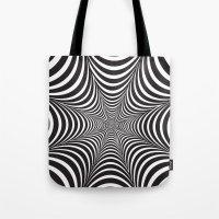 Optical illusion Tote Bag