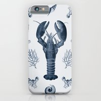 iPhone & iPod Case featuring vintage sea life by ravynka