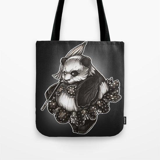 Panda's Day Off Tote Bag