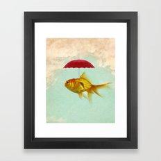 under cover goldfish 02 Framed Art Print