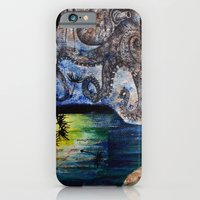 iPhone & iPod Case featuring Literary Octopus by Sarah Sutherland