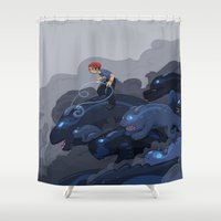 Rainy Day Activities Shower Curtain