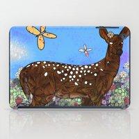 Flower Deer iPad Case