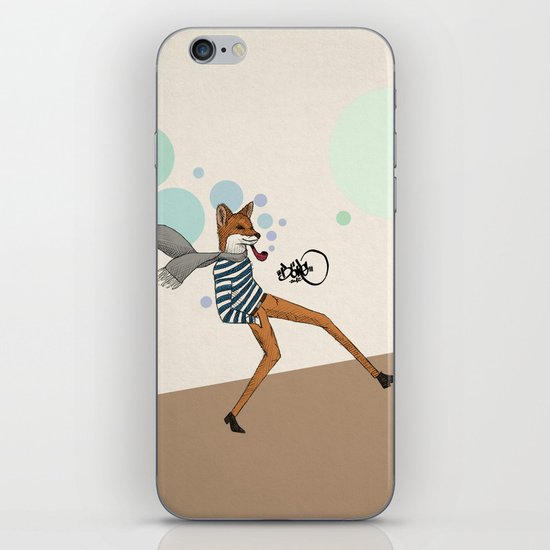 foxtrot iPhone & iPod Skin