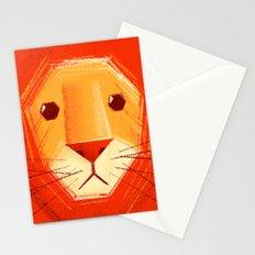 Sad lion Stationery Cards
