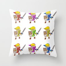 Links! Throw Pillow