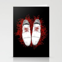 shoes Stationery Cards featuring Shoes by Tamar Kasparian