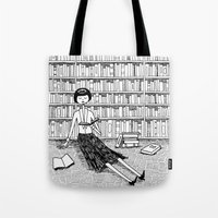 She Just Wanted To Read … Tote Bag