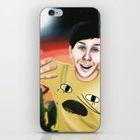 Phil in Ooo iPhone & iPod Skin