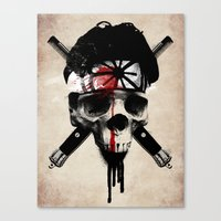 Death To LaRusso Canvas Print