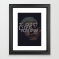mr.robot_eps2.0_unm4sk-pt2.tc Framed Art Print