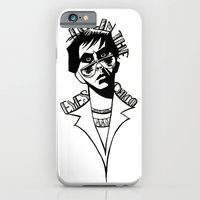iPhone & iPod Case featuring It's In the Eyes Chico by Anthony Akanbi