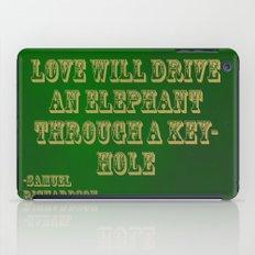 Elephant Love iPad Case