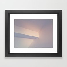 Pink Sunset Light Framed Art Print