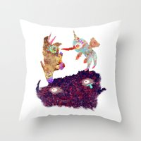 I Don't Believe Using Your Psychic Powers Throw Pillow