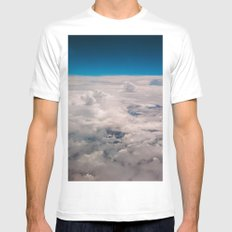 View of the sky Mens Fitted Tee White SMALL