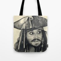 Captain Jack Sparrow ~ J… Tote Bag