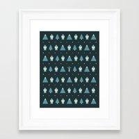 Yeti Country Framed Art Print