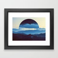Framed Art Print featuring Himalayan Reflection 2 by Naked Monkey
