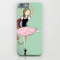 iPhone & iPod Case featuring Colorful Ballerina by Devin Marie
