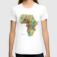 africa T-shirts featuring Africa by bri.buckley