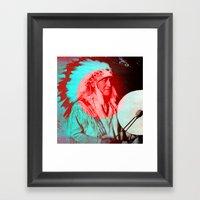Creation.  Framed Art Print