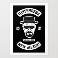 Sons Of Heisenberg Art Print
