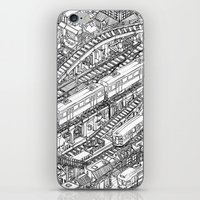 The Town of Train 3 iPhone & iPod Skin
