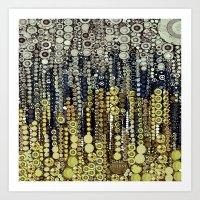 :: Gray Gatsby :: Art Print