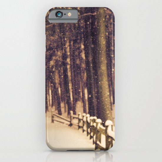 Snowfall iPhone & iPod Case