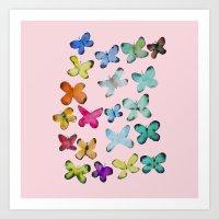 For A Friend: Butterflie… Art Print