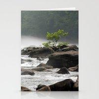 Summer Gauley River Fog Stationery Cards