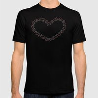 Heartipede Mens Fitted Tee Black SMALL