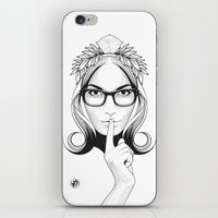 SHHHHH! iPhone & iPod Skin
