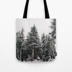 Snowy Paradise Tote Bag