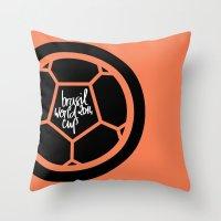 Brazil World Cup 2014 - … Throw Pillow