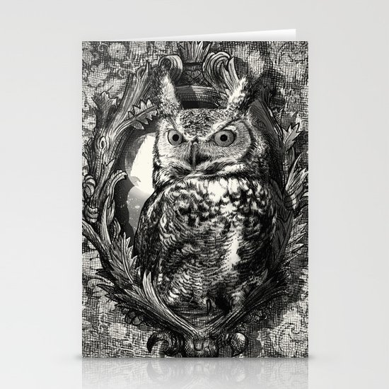 Nightwatch - by Eric Fan and Garima Dhawan  Stationery Card