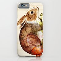 iPhone & iPod Case featuring Bunny by TatiAbaurreDesigns