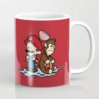 Mario And Kong Mug