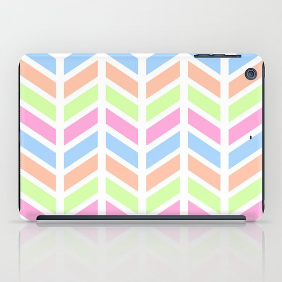SPRING CHEVRON 3 iPad Case