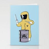 Toxic Beats Stationery Cards