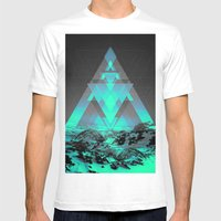 Neither Real Nor Imaginary II Mens Fitted Tee White SMALL