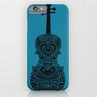 iPhone & iPod Case featuring Analog zine - Fiddle by Farnell