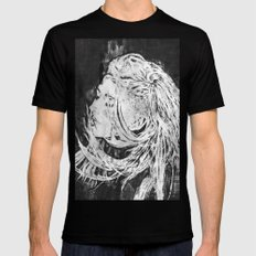 Ellie Mens Fitted Tee SMALL Black
