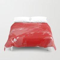 RED HOT CHILI PRINT Duvet Cover