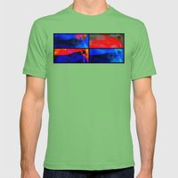 Summer In Rio Mens Fitted Tee Grass SMALL